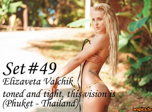 GeorgeModels Elizaveta Valchik - Set 49 - Toned and tight, this vision is (Phuket - Thailand) - 100 Photos