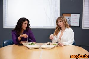 GirlsWay Lena Paul & Victoria Voxxx - Classroom Quickie - x35 - May 20, 2021