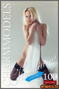 CharmModels 2015-11-18 - Kristiana (Samanta D) - Sexy Blonde Topless (Casting)