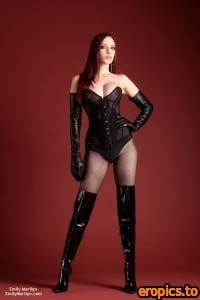 EmilyMarilyn Emily-Marilyn .boots n' corset (x85) 1000*1500