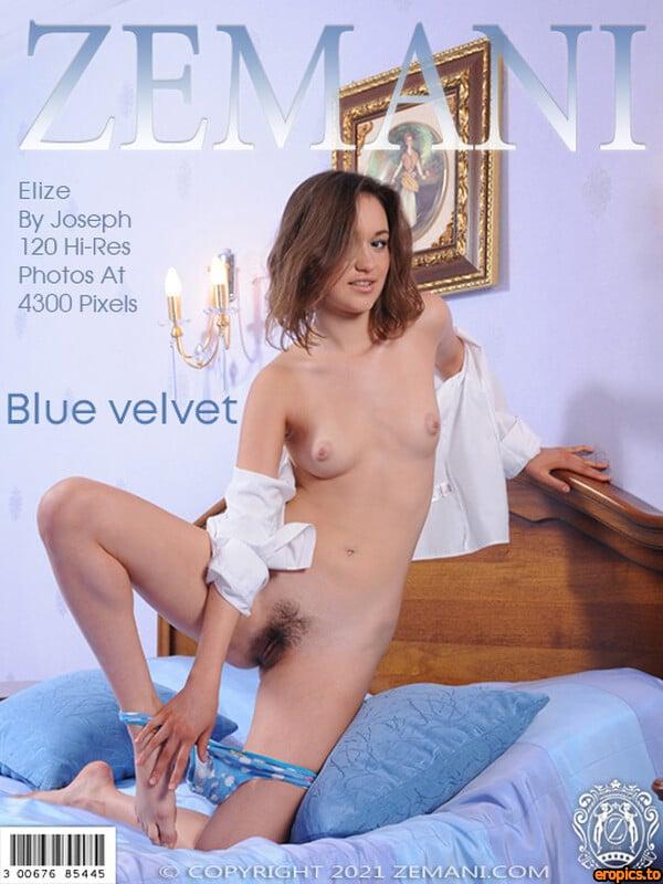 Zemani Elize - Blue velvet - 120 Photos - Apr 24, 2021