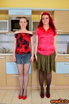 AuntJudys Mischelle - #Lesbian Milf Licking - 213x