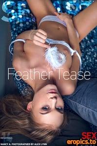 SexArt Nancy A - Feather Tease - 143 Photos - Mar 29, 2021