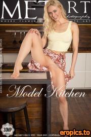 MetArt Anna Delos - Model Kitchen - 123 Photos - Jan 19, 2021