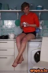AuntJudys Yana Strips & Masturbates in the Kitchen - 172 Photos - Feb 17, 2021