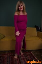 AuntJudys Liana Purple Dress Strip & Masturbation - 173 Photos - 6000px - Apr 15, 2021