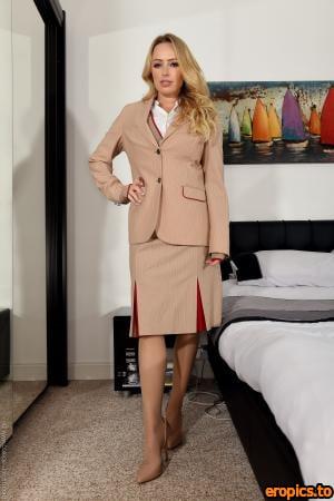 College-Uniform Holly Gibbons - Air Hostess - 142 Photos - 6048px - Sep 18, 2020