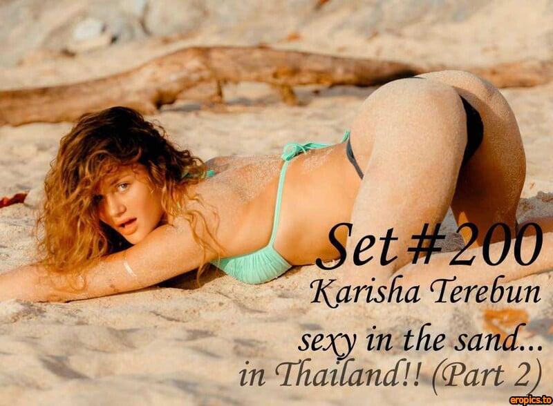 GeorgeModels Karisha Terebun - Set 200 - sexy in the sand... in Thailand!! (Part 2) - 100 Photos