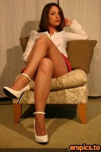 AdriannePantyhose ADRIANNE - Red Panties (x56) 800x1200