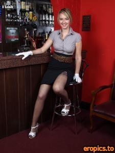 VintageFlash Katie Kay - Pub stripper! 110 pics 04 January 2010