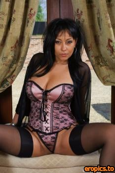 BustyBrits Danica Collins - Curtains 133 pics