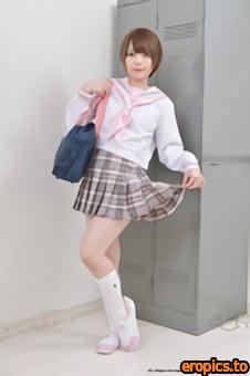 LovePop 2021-04-14 - Sena Kisaragi (003) Sailor Suit
