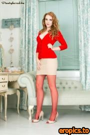 Pantyhosed4U Alexa Red - Get redy for it! - x129 - 3000px - 30 December 2015
