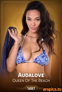 IStripper Audalove - QUEEN OF THE BEACH - x 50 - Card # 1487 - 3000 x 4500 - October 23, 2020