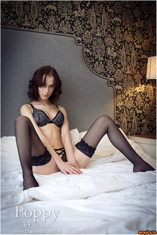 CharmModels 28-08-2020-Poppy Sexy Skinny Teenager In Elegant Room 70 pics 104 MB