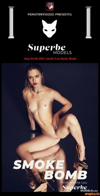 SuperbeModels June-02-06-2021-Amelie Lou aka Clarice Smoke Bomb 102 pics 37 MB