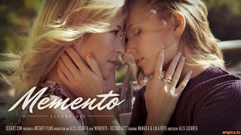 SexArt Mango A & Lola Reve - Memento - Second Act (Mar 13, 2015) x195