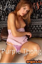Stunning18 Martina A - Martina - Purple Thong - 30 Photos - Apr 11, 2021