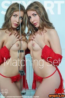 SexArt Bjorg Larson - Matching Set - 86 Photos - Oct 19, 2020