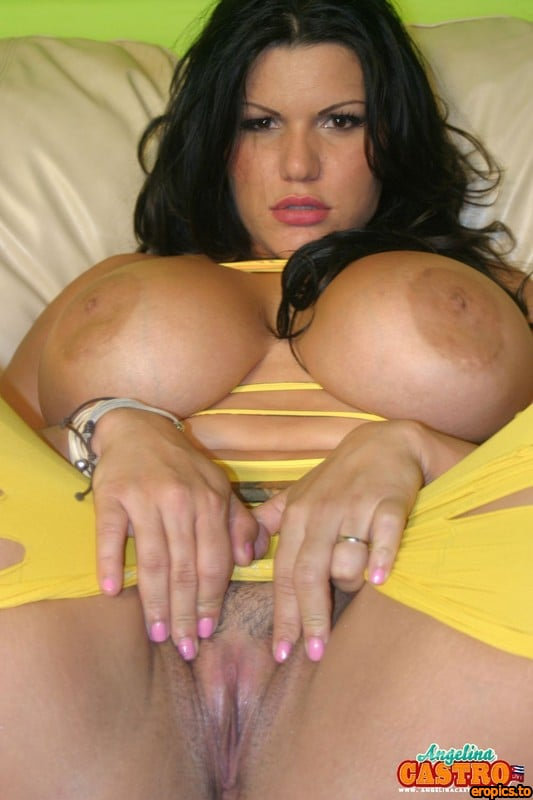 AngelinaCastroLive Angelina Castro - Yellow Mesh (72 images; 1500)