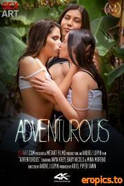 SexArt Anya Krey, Baby Nicols, Mina Moreno - Adventurous (02.04.2021) - 58x